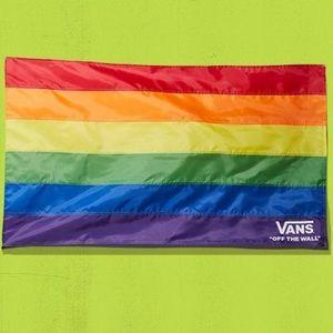 Vans pride flag